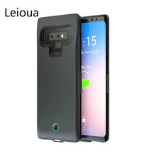 Leioua 7000mAh New Note battery case For Samsung Note 9 Battery Charger Case Power Bank Pack External Charger Cover Good Backup