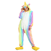 3 Styles Star Rainbow Multi Colours Adult Child Unicorn Unisex Kigurumi Animal Cosplay Costume Onesies 1