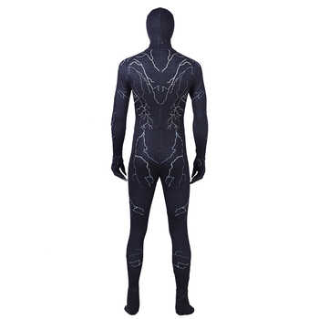 Spiderman Venom Cosplay costume mask jumpsuit Black Edward Brock Dark Superhero Helmet Halloween Party Props DropShipping