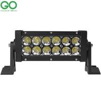 LED Work Light Bar 36W Bridgelux Chip for Indicators Motorcycle Driving Offroad Boat Car Tractor Truck 12V 24V Marine Lighting