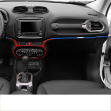 Lsrtw2017 Abs Car Central Control Dashboard Trims for Jeep Renegade