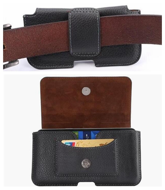 1973059ef7b Man Style Belt Strap Clip Leather Phone Case Pouch bag for iPhone 4S 5S 5C  SE 6 6