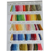 Newly 430 Colors Polyester Embroidery Thread Cross Stitch Thread Pattern Kit Embroidery Floss Sewing Skein VA88