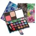 2017 shimmer EyeShadow palette Maquiagem Sombras da paleta da sombra de 22 cores Da Moda Com o Caso de Cosméticos para as mulheres 3 estilos LM019