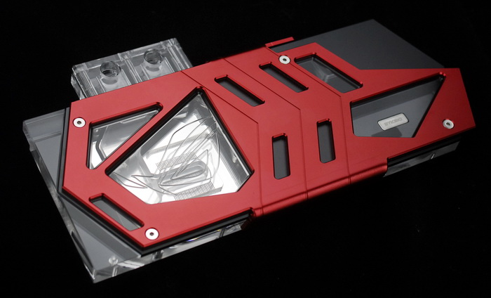 Bykski FOUR Serial FR-N-AS1080STRIX VGA Water Cooling Block for ASUS GTX 1080 1070 STRIX цена
