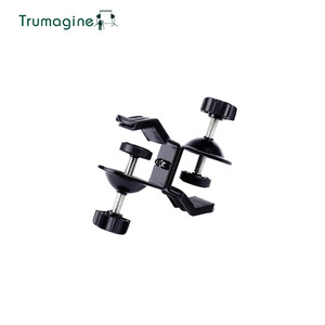 Image 1 - TRUMAGINE זוגי Heavy Duty מהדק C U קליפ תאום עבור אביזרי תמונת סטודיו אור stand עבור ירי צילום סטודיו פלאש