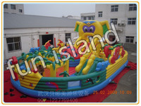 Customize giant inflatable jumping house,inflatable castle combo