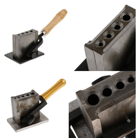 Jewelry Ingot Mold Wire Jewelry Cast Casting Melting Gold Silver Plate Tool