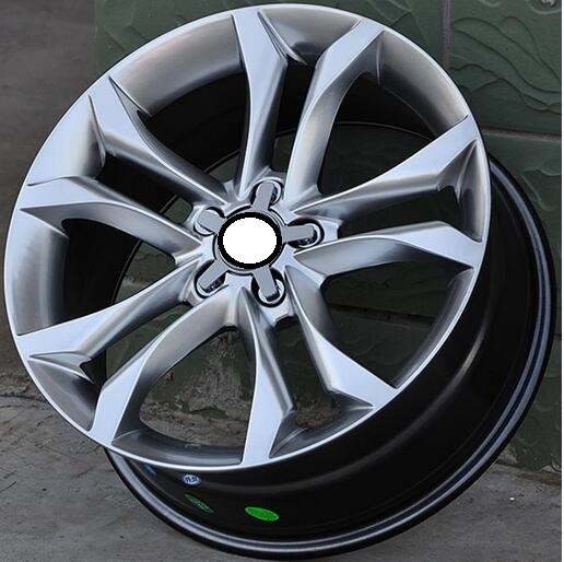 hyper silver 18 19 inch 5x112 car alloy wheels fit for audi in wheels from automobiles. Black Bedroom Furniture Sets. Home Design Ideas