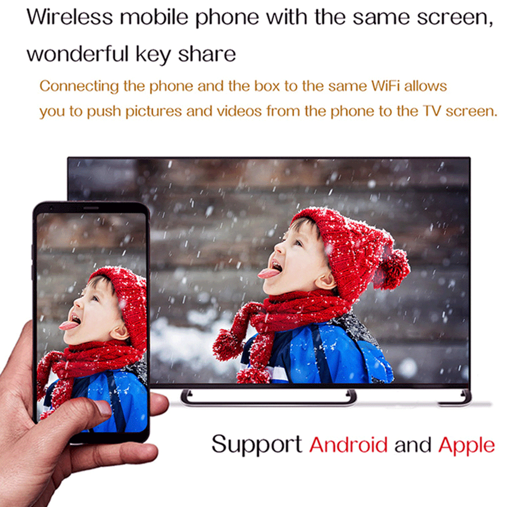 Image 5 - H96 Max Plus TV Box Android 9.0 4GB RAM 64GB ROM Set Top Box RK3328 2.4G/5Ghz Wifi 4K H.265 Media Player-in Set-top Boxes from Consumer Electronics