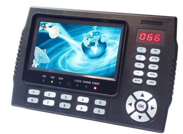 Kangput KPT-958H 4.3 inch DVB-S/S2 TV Receiver sat finder Portable Multifunctional HD Satellite Finder Monitor MPGE4 cccam