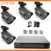 HKES 1080N HDMI DVR 1200TVL 720P HD Outdoor Home Security Camera System 4CH CCTV Video Surveillance
