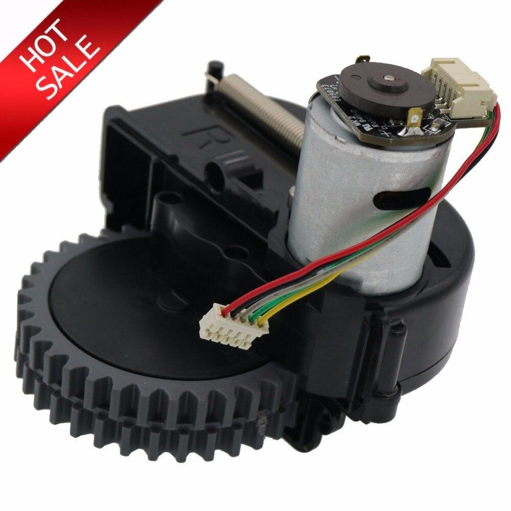 Original roue droite robot aspirateur Pièces accessoires Pour ilife V3s pro V5s pro V50 V55 robot Aspirateur roues moteurs