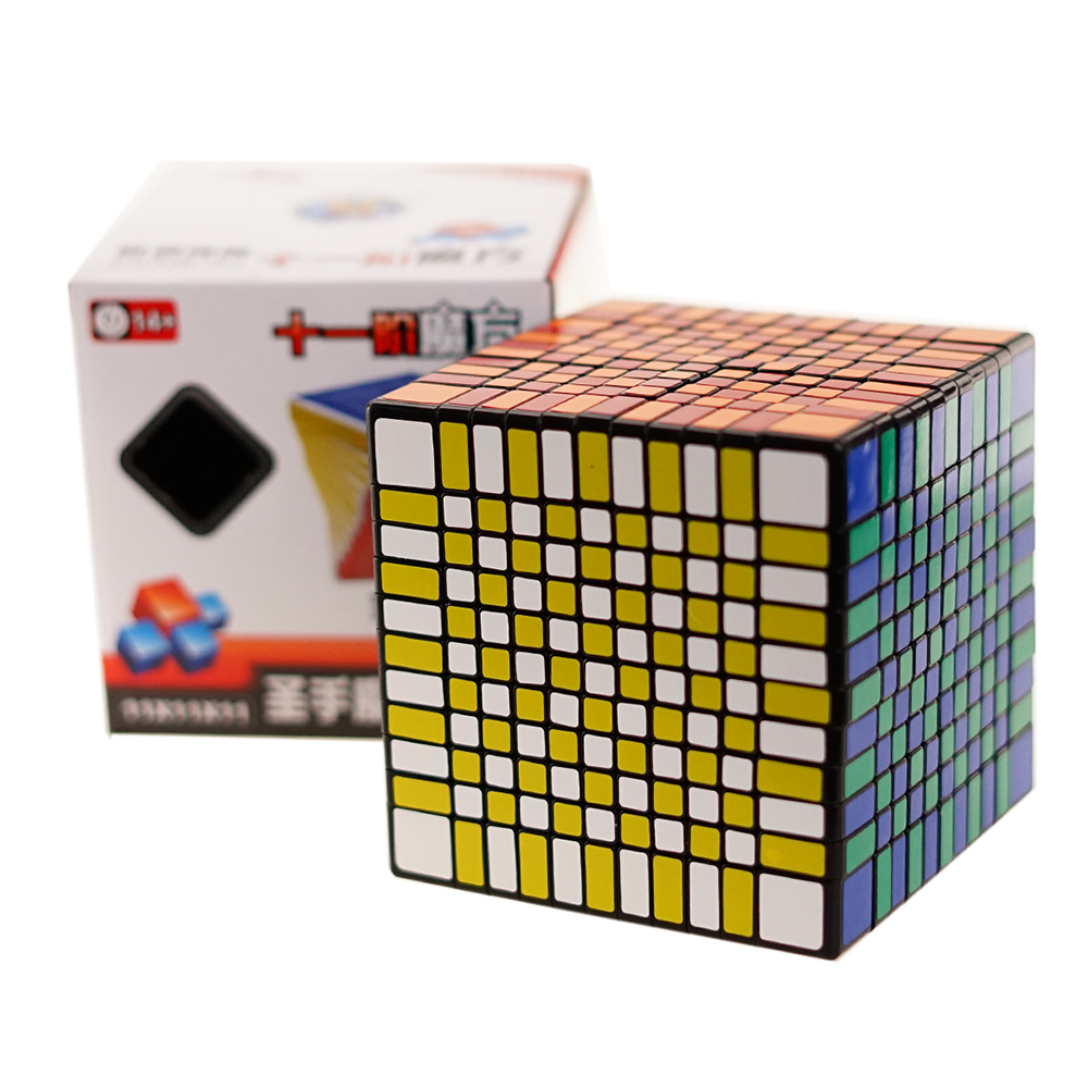 Difficult 11x11x11 cube Professional competition Cube Speed magic cube 11 Layers cube magico cubo gift toys