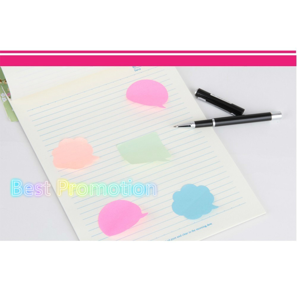BPColor notes, paper note paper, instant message paper memo kawaii notepad stickers WJ BQB3 PUHUO9