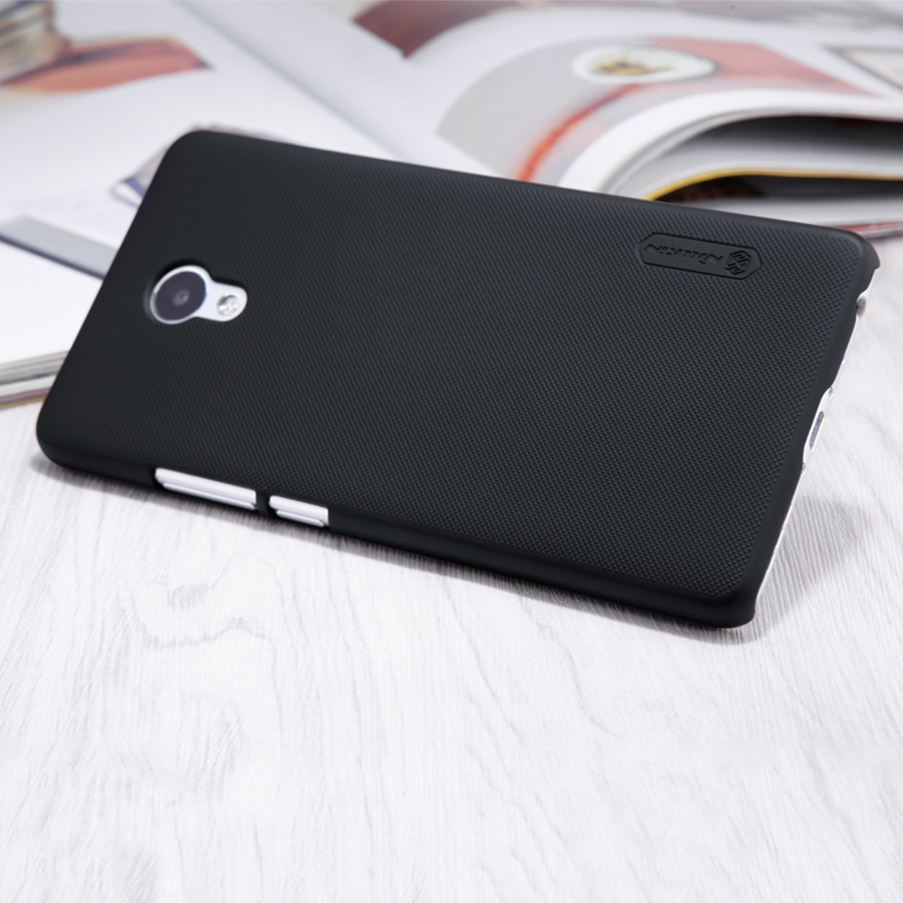 NILLKIN case for meizu m5 note cover Frosted PC Plastic back cover with Screen Protector meizu m5 note (5.5 inch) phone bags