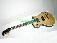 Free Shipping Natural Custom Electric Guitar Wooden Mahogany body High Quality Cheap