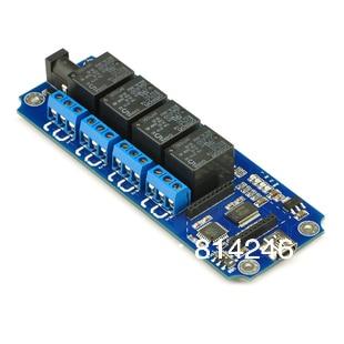 4 channel USB / wireless control relay module supports zigbee Bluetooth WIFI control waveshare core51822 bluetooth 4 0 module wireless for intelligent application