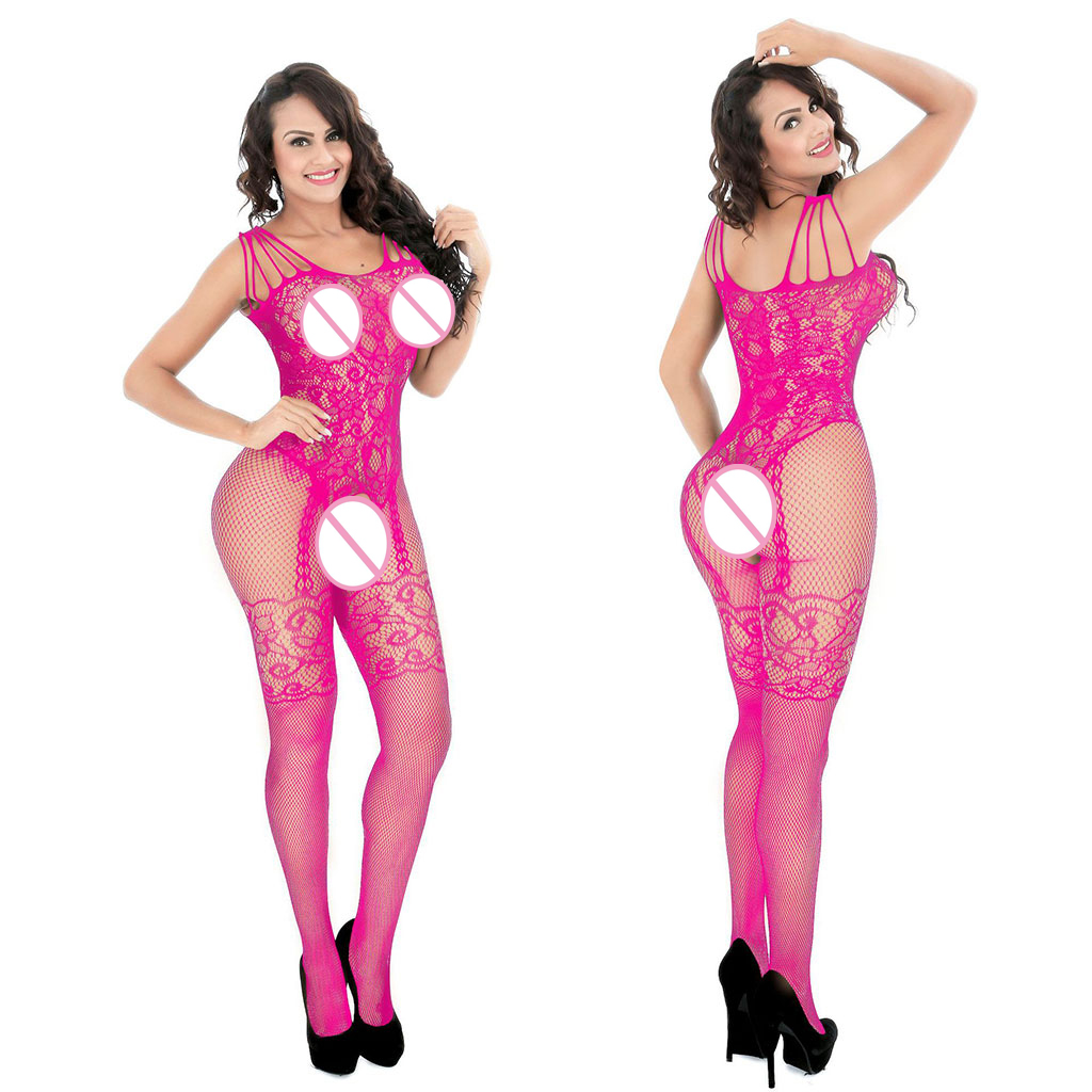 Women Sexy Lingerie Sleepwear Nightwear Body stocking Fishnet Bodysuit