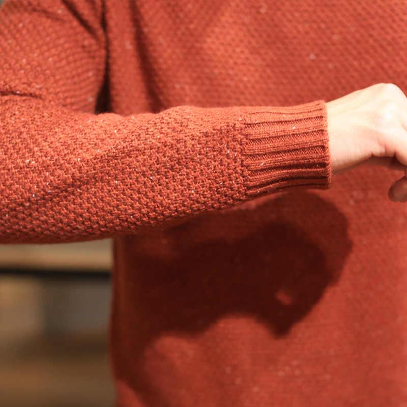 AmberHeard для мужчин пуловер свитер 2019 осень зима с круглым вырезом длинным рукавом повседневное Slim Fit Трикотаж мужские свитера джемпер тянуть Homme