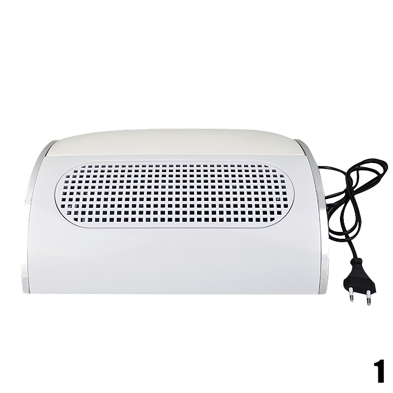 New 3 Fan Powerful Nail Dust Suction Collector Nail Dryer Vacuum Cleaner Manicure Tools with 2 Dust Collecting Bags Nail Dryer