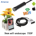 Iphone Endoscope HD 9mm WiFi Endoscope Camera Waterproof Video Inspection Android Endoscopio Camera for IOS and Android Phone