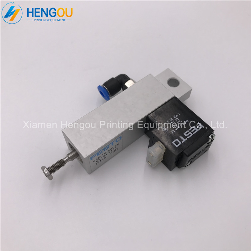 2 pieces free shipping cylinder valve for PM74 SM74 heidelberg printing machine 61.184.1131 2 pieces festo cylinder valve for pm74 sm74 heidelberg 61 184 1131