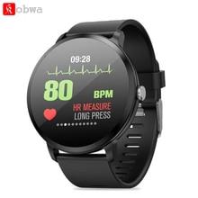 V11 Смарт-часы закаленное стекло Экран Фитнес трекер сердечный ритм измерять кровяное Давление, умные часы, IP67 водонепроницаемый спортивный ремешок