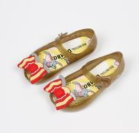 Mini Melissa Fashion Girl Sandals Brazil Jelly Sandals Melissa Children Sandals Beach Shoes Non slip Toddler Shoes School Girl