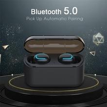 True Wireless Earphone Mini TWS V5.0 Bluetooth Earbus In-Ear3D Stereo Sport with Dual Microphone