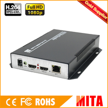 HD MPEG-4 AVC H.264 hdmi encoder independent for IPTV streaming with UDP TCP ONVIF server stream