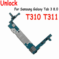 Original Working Well Unlocked With Chips Mainboard Global firmware Motherboard For Samsung Galaxy Tab 3 8.0 T310 T311 16GB