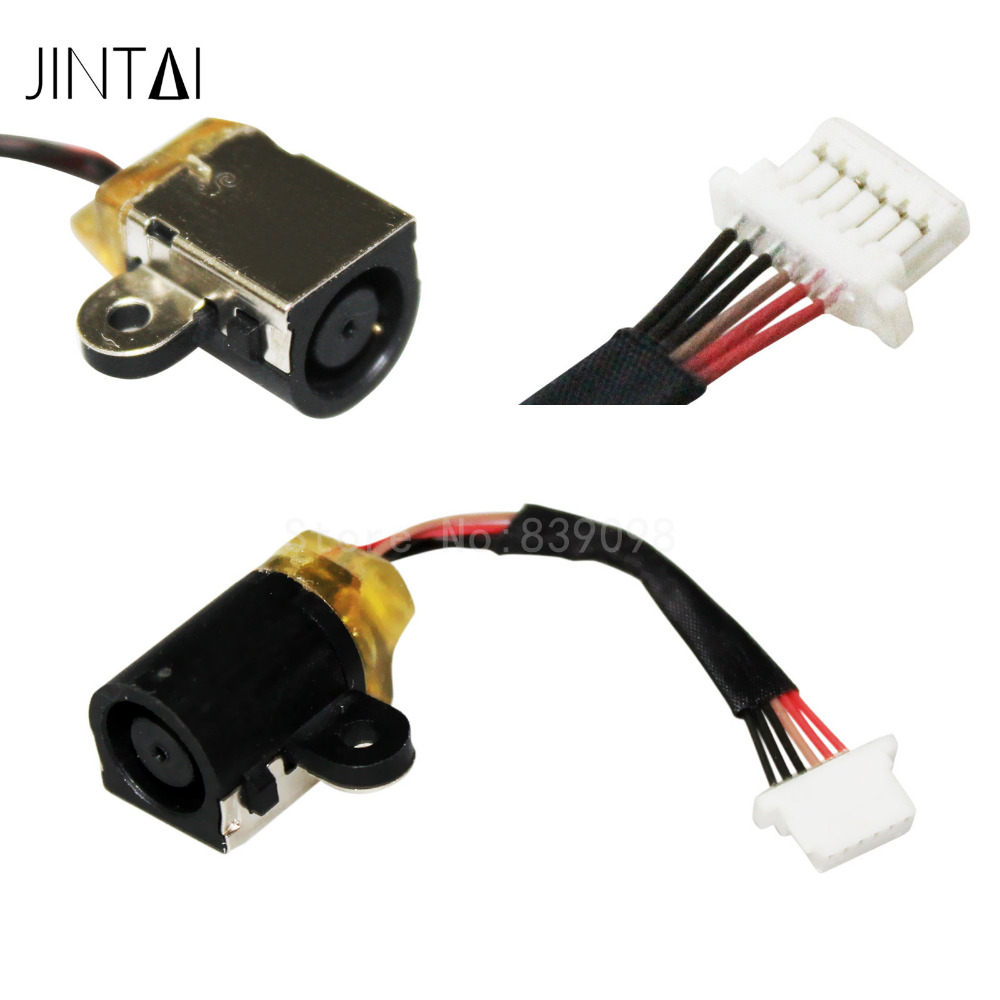DC-IN Jack for HP 9470M 9480M 702875-001 Power Jack Harness Port Connector Socket with Wire Cable