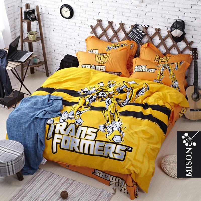 popular transformers queen bedding buy cheap transformers