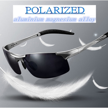 Polarized Sunglasses 2015aluminium-magnesium Alloy Super Cool Hd Light