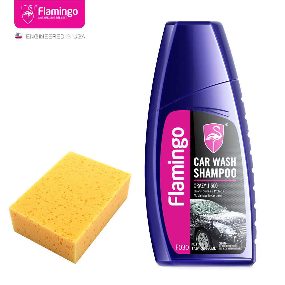 Shampoo-Set Car-Wash Auto-Care 500ml Detergent Cars Premium