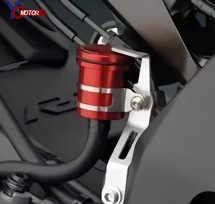 CBR929RR รถจักรยานยนต์ CNC รถจักรยานยนต์ Brake Fluid Reservoir Clutch ถังน้ำมันถ้วยสำหรับ HONDA CBR929RR CBR 929RR CBR 929 RR
