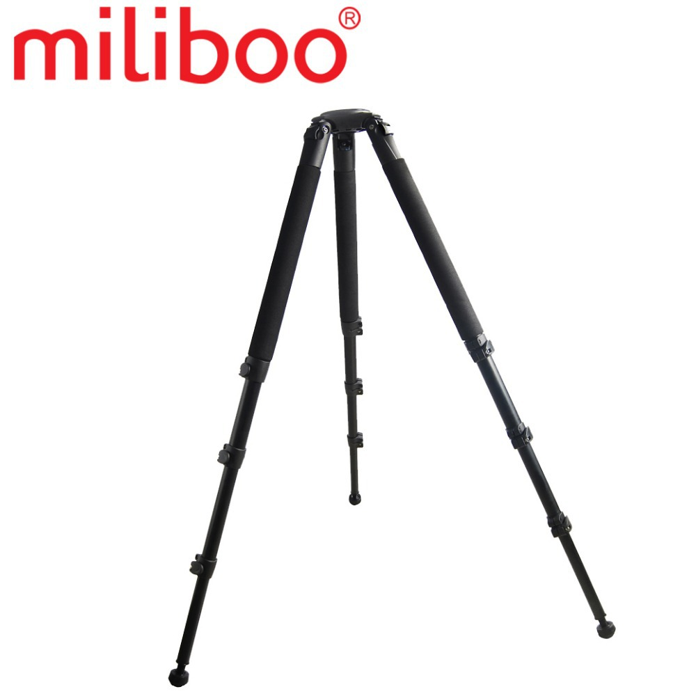 miliboo MTT702B (without head) 25KG bear Carbon Fiber video professional camera Tripod for Professional Camera Camcorder/Video