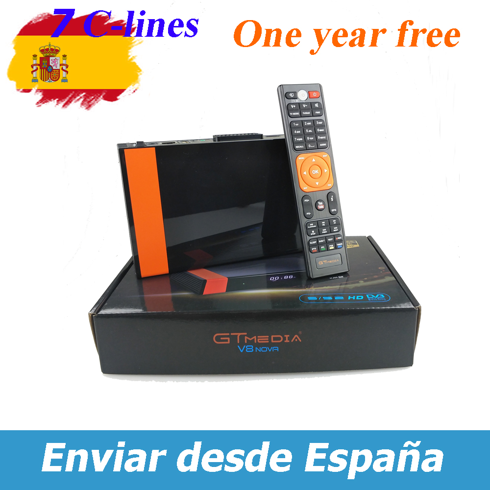 shop Spain GT Receptor Nova WIFI Freesat v8 with crypto, pay with bitcoin