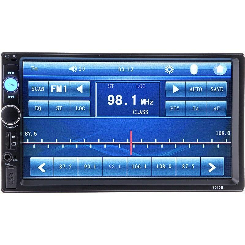 7 pouces autoradio MP4 MP5 OLED couleur écran lecteur de musique Bluetooth mains libres appelant voiture MP3 carte machine inversion visuelle - 2