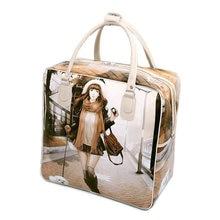 Fashion Women's Cute Travel Bag Girls Lovely PU Leather Shou
