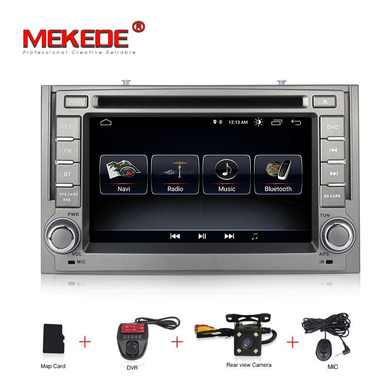 MEKEDE Android8.1 voiture 2Din Radio DVD pour Hyundai H1 Grand Starex 2007-2015 autoradio gps navigation stéréo multimédia WIFI