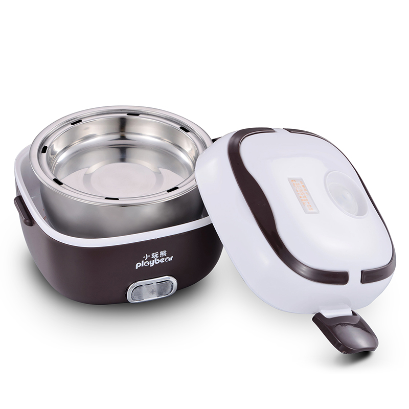 Lunch Box Electric Baby Rice Cooker Double Heating Mini Small Rice Cooker Can Plug Insulation Rice Cooker electric digital multicooker cute rice cooker multicookings traveler lovely cooking tools steam mini rice cooker