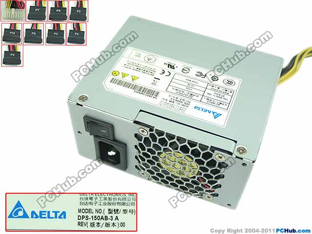 Emacro Delta Electronics DPS-150AB-3 A Server - Power Supply 150W ATX PSU For Server / Computer for delta electronics dps 320eb server power supply 320w psu for hp b2600 dps 320eb c 0950 4051 100 127v 9 0a 200 240v 4 5a
