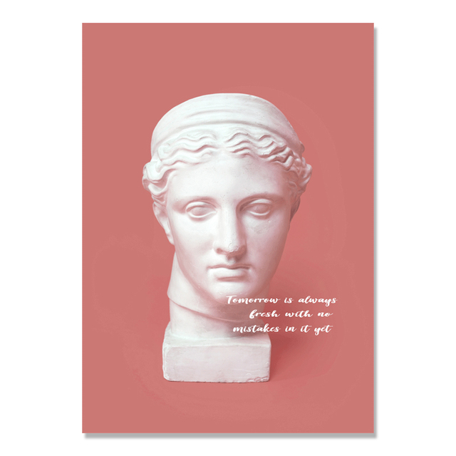 Poster Greek Sculpture Mawgie