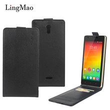 Lingmao Oukitel K4000 Lite Case Vintage Luxury Leather Cover Vertical Flip Wallet Phone Bag Case for Oukitel K4000 Lite