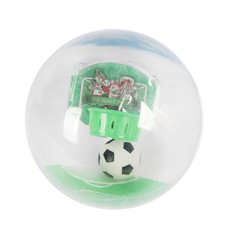 Handheld Electronic Football Player with LED Light & Shoot Decompression Toy