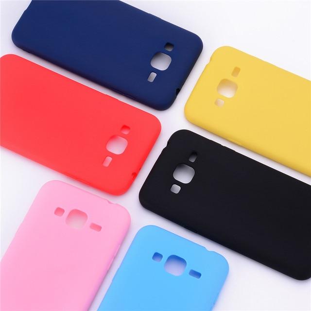 Ốp lưng Cho Samsung J3 6 Ốp Lưng Dẻo Silicone Cho Samsung J3 2016 Ốp Lưng Fundas Kẹo màu Mặt Sau Cho Samsung galaxy J3 2016 Ốp Lưng