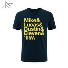 """Amazing """"Mike & Lucas & Dustin…"""" men T-shirt / 20 colors"""