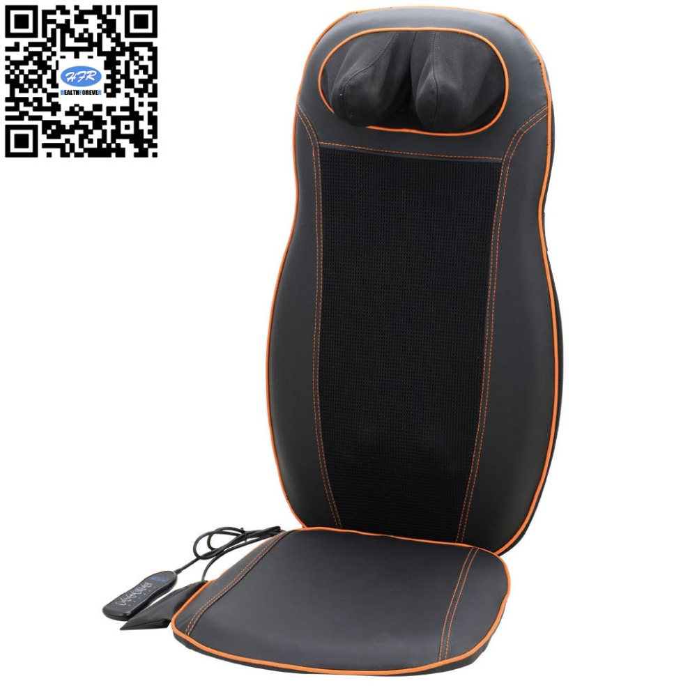 HFR-858-1A HealthForever Brand DC12V Home&Car Back Moving Kneading Rolling Shiatsu Full Body Massage Cushion Electric hfr 8802 3 healthforever brand wireless control kneading device legs instrument electric shiatsu air bag foot massager machine
